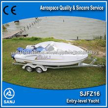 Entry level SANJ Combined Boat with Yamaha jet ski
