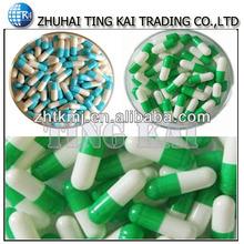 Medicine capsules packaging gelatin empty