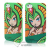 Surmax colorful skin for iphone 4 4s ABS hard case