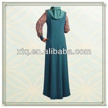 Transend musim linen muslim jubah