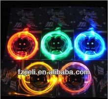 The 1st generation of bright led shoelace colorful silicone shoelace led shoe laces shoelaces for sale