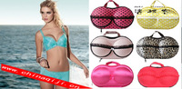 wholesale 2014 portable protect bra case eva bra bag