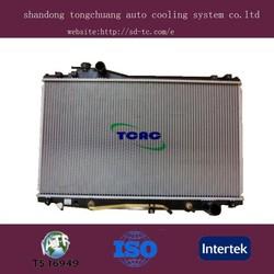aluminum auto radiator car parts LEXUS SC400 DPI 2062 manufacture