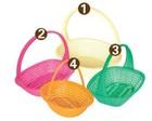 large fruit/vegetable/bread plastic storage basket