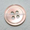 material de la cáscara botones para prendas de vestir