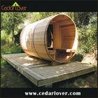 Wooden outdoor spa gardening gazebo