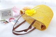 Alibaba China manufacturer natural straw beach bag wholesale