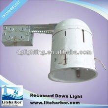 2013 New Product 5 inch Recessed LED Remodel NON-IC Airtight Can light/led street light housings