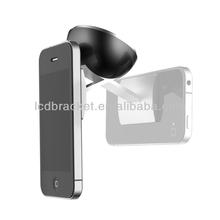 Nano Suction Material Glass/Toilet Glass Bathroom Phone Holder