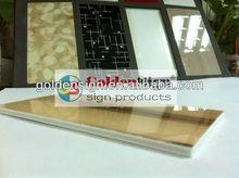 Color pvc foam board/acrylic/lamina de pvc/film de acrilico