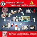 ( dy- 1040) boa qualidade de poliestireno espuma bandeja formando e máquina de corte