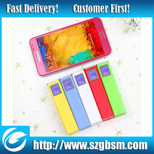 with LED screen display USB universal power bank 2600mah for ipad