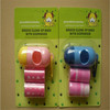 pet plastic dog waste bags with dispenser