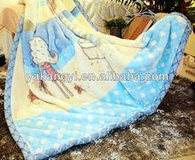 100%polyester fluffy fleece blanket