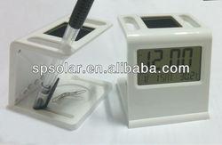 SK1062 solar digital photo flip clock
