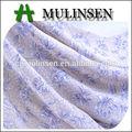 mulinsen têxtil tecido de poliéster chiffon 100d imprimir nomes de tecidos para o vestido