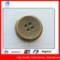 yx3698 antiguo único botón de latón para prendas de vestir