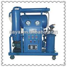 Zya-150 dos- etapa de filtración al vacío para equipos de alta tensión del transformador de aceite