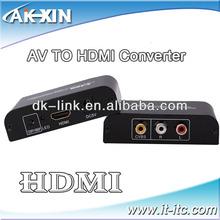 1080P AV CVBS 3 RCA to HDMI Video Composite Converter Adapter