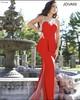 Latest Red Designe 2014 New Fashion Sexy See through evening dresses EM-0115 elegant ladies fashion formal dress