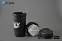 18OZ Plastic Leak-proof Sports Protein Shaker Blender Drinking Bottle (SHK-008)