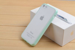 Skin Cover For iphone5 5S, Transparent Matte Case 0.3mm Ultra Thin Frosted Slim Back Cover