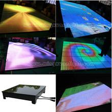 disco interactive pressure led dance stage floor light