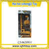 Big size plastic tower crane toy for boys