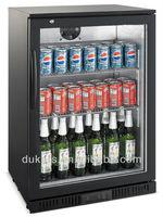 One swing door black colour beer cooler LG-138