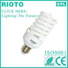 china hot sale E27 base T3 10mm 23W full spiral power saver CFL lamp holder