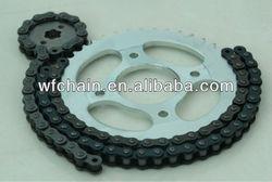motorcycle chain and sprocket kits,motorcycle transmission kits
