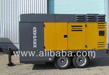 Used portable air compressor ATLAS COPCO XRVS 476 Cd