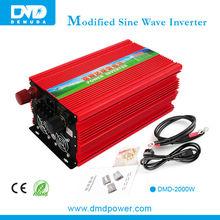 High-end chip dc12v ac 220v 2000w dc-ac power inverter modified sine wave off-grid inverters