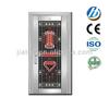 SS-58 luxury door mats interior door with aluminium strips high security car door locks