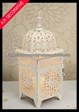 Moroccan table lantern, Cream lantern