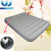 Camping air bed double size with built-in foot pump