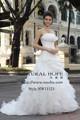 мода новый стиль без бретелек рябить дизайн длинный хвост дешевые свадебные платья сделано в китае