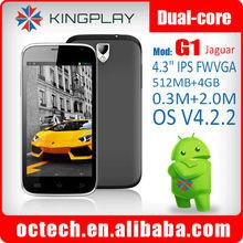 Kingplay G1 4.3'' IPS china 3g king 2014 new unlocked phone