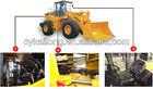 LW560A wheel loader/cummins engine with CE, GOST, 5 ton wheel loader