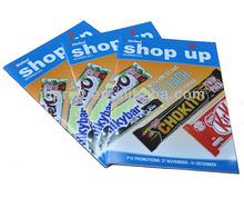 fashion 2014 magazine brochure product sample saddle stitch brochures printing