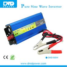 Best quality pure sine wave DC12V TO AC220V 500w solar power