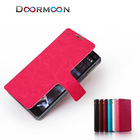 new arrival high quality luxury genuine PU leather wallet phone case for iphone 5c