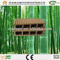 Plástico reciclado de pisos de madeira/wpc decking ao ar livre