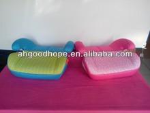 pink flower prints booster car seat