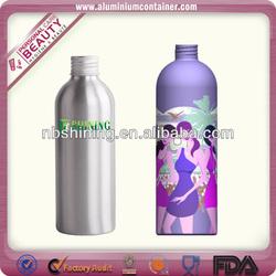 Aluminum high quality shaped novelty drink bottles