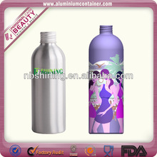 Aluminum high quality shaped novelty drink bottles