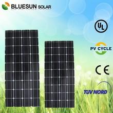 TUV certificate mono 18v 100 watt amorphous silicon thin film solar panel