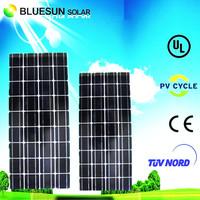 TUV certificate mono 18v 100 watt germany solar panels