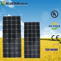 TUV certificate mono 18v 100 watt flexible amorphous solar panel