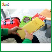 Encai Factory Newest Journey Organizer Passport Case/3M Passport Bag/Stocked Tickets&Cards Holder